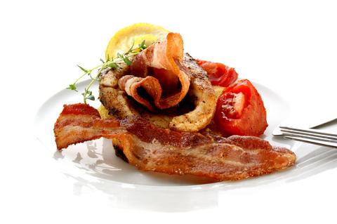 Filety z kapra ve slanině