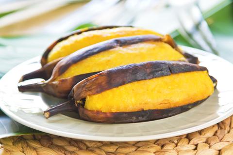 Grilovaný banán